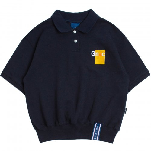 로맨틱크라운(ROMANTIC CROWN) GNAC Polo T Shirt_Navy