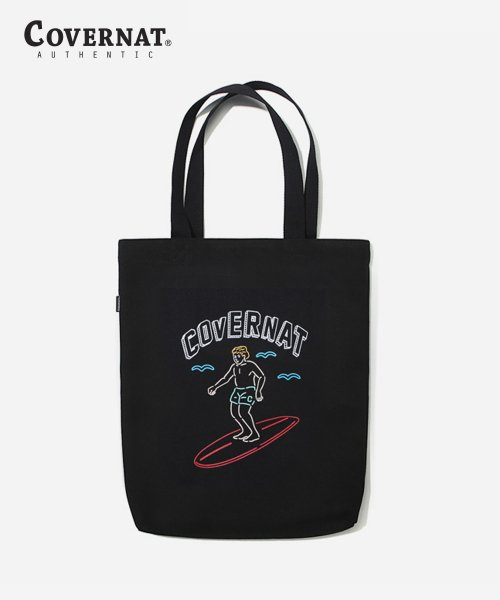 커버낫(COVERNAT) SURFER MAN ECO BAG BLACK