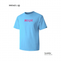 모노파틴(MONOPATIN) night light middle age MNPT scotchlite  t shirt – skyblue