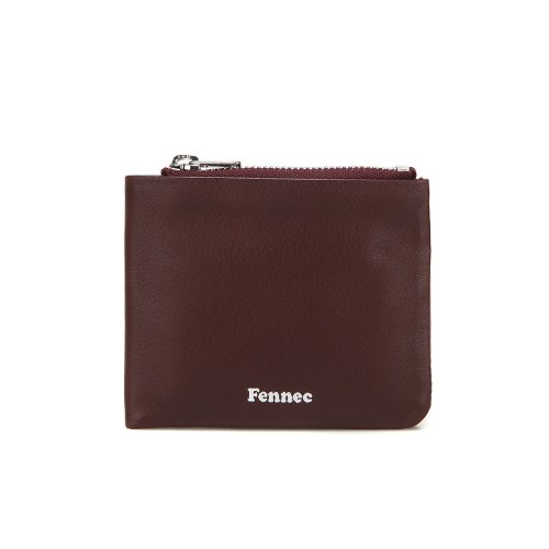 페넥(FENNEC) SOFT FOLD WALLET - WINE