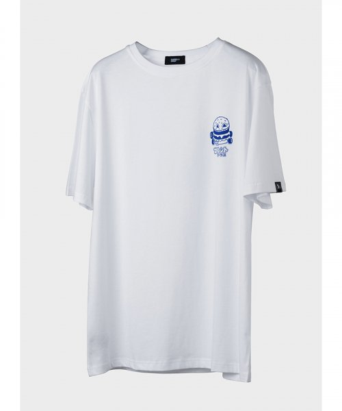 게릴라그룹(GUERRILLA GROUP) BATTLE BURGER MANIA TEE / WHITE