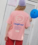 알엘오엘(R:LOL) (TS-19305) SMILE T-SHIRT PINK