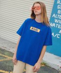 알엘오엘(R:LOL) (TS-19304) BOX T-SHIRT BLUE