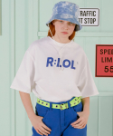 알엘오엘(R:LOL) (TS-19303) BASIC T-SHIRT WHITE