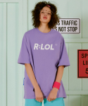 알엘오엘(R:LOL) (TS-19303) BASIC T-SHIRT LAVENDER