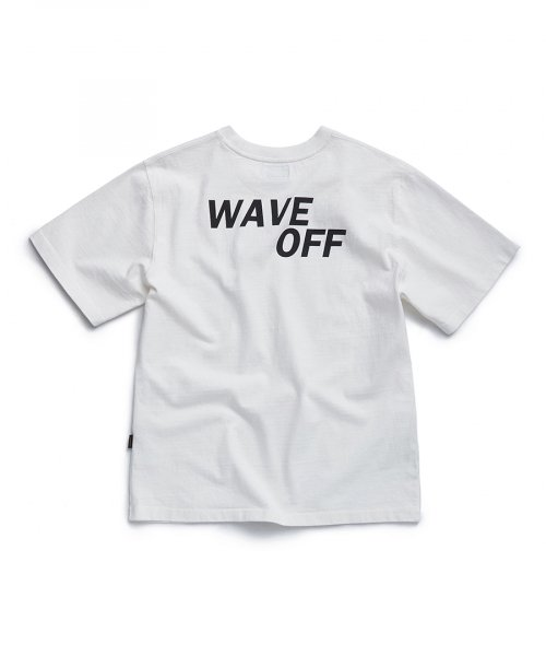 에스피오나지(ESPIONAGE) WAVE OFF Heavyweight T-Shirt Off White