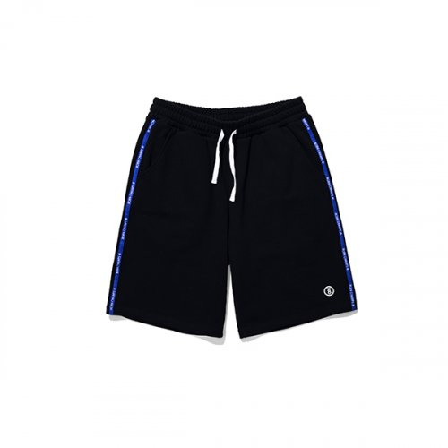 본챔스(BORN CHAMPS) BC NEW TAPE SHORT PANTS CESBMTP02BK