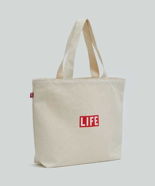 라이프 아카이브(LIFE) LIFE SHOPPER BAG_NATURAL