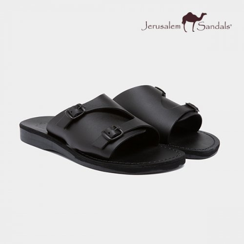예루살렘 샌들(JERUSALEM SANDALS) NO.1016 SETH BLACK