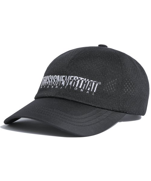 디스이즈네버댓(THISISNEVERTHAT) Athletics Mesh Cap Black