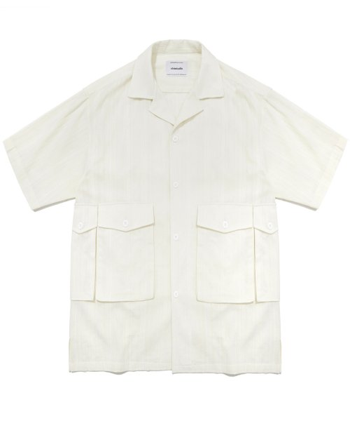 비바스튜디오(VIVASTUDIO) UTILITY SHIRTS IS [IVORY]