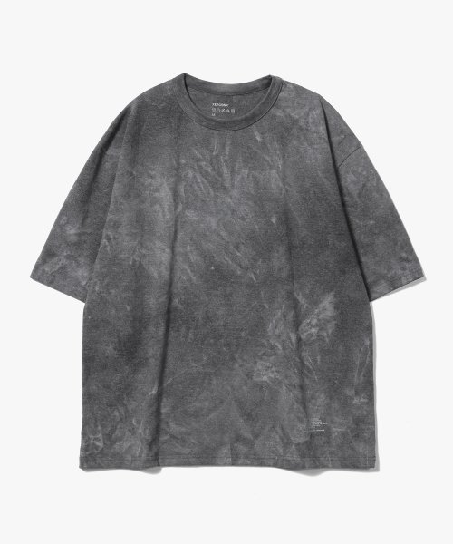 제로(XERO) Oversize Water Washed  T-Shirts [Charcoal]