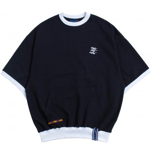 Pocket Sweat T Shirt_Navy