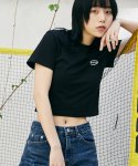 맥앤칩스(MCNCHIPS) OG CROP TOP BLACK