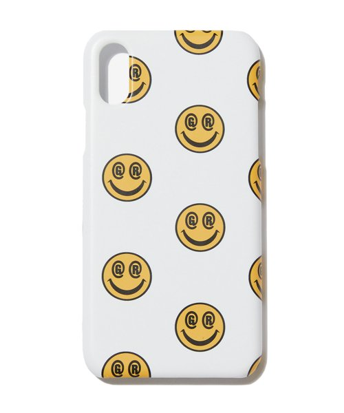 그루브라임(GROOVE RHYME) SMILE MOBILE IPHONE X/XS CASE [GPC001H53]