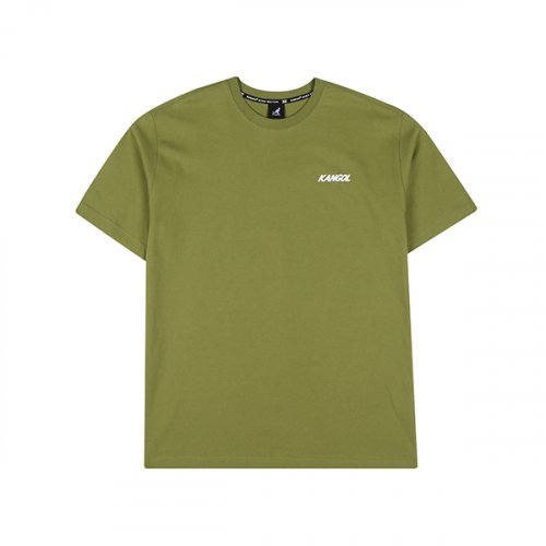 캉골(KANGOL) Pop Colored T-Shirt 2602 GREEN