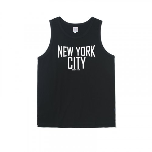이벳필드(EBBETSFIELD) NEW YORK CITY LOGO SLEEVELESS BLACK