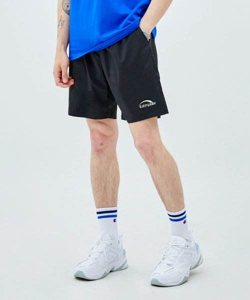 에어펀치(AIRPUNCH) Logo Shorts_black