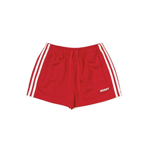 널디(NERDY) Women NY Track Shorts Red