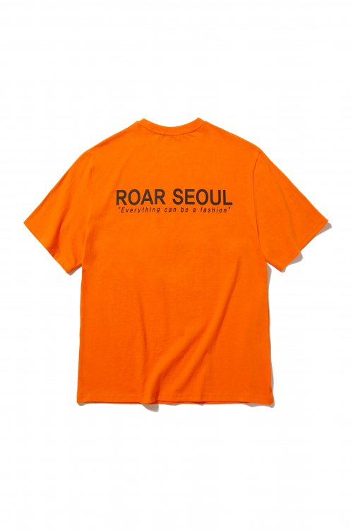 로어(ROAR) SEOUL LOGO HF-TEE(ORANGE)