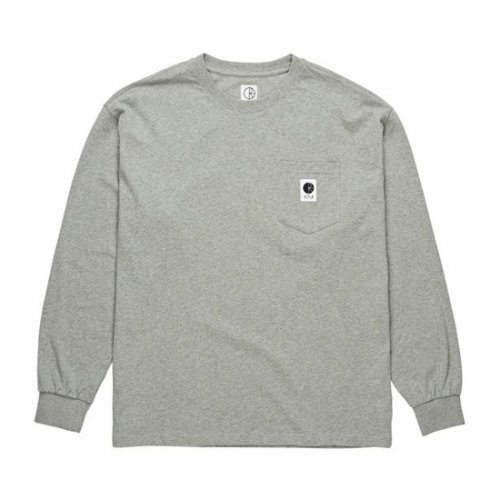 폴라(POLAR) Pocket Longsleeve - Heather Grey