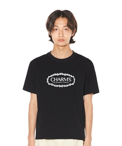 참스(CHARM'S) CHARMS ROSE CIRCLE LOGO T