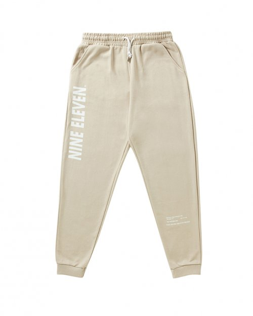 나인일레븐(NINE ELEVEN) Labatory Sweat Pants-Be
