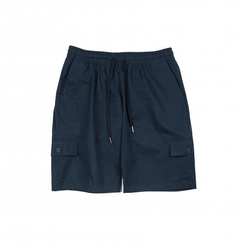 디미트리블랙(DIMITRI BLACK) MULTI POCKET BANDING PANTS NAVY