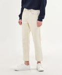 덴메이드(DENMADE) (4차 리오더)DEN cream straight crop jeans.