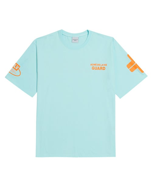 아크메드라비(ACME DE LA VIE) ADLV GUARD SHORT SLEEVE SKY BLUE