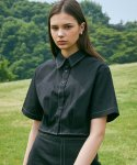 라티젠(LARTIGENT) LJ STITCH SHIRT(BLACK)