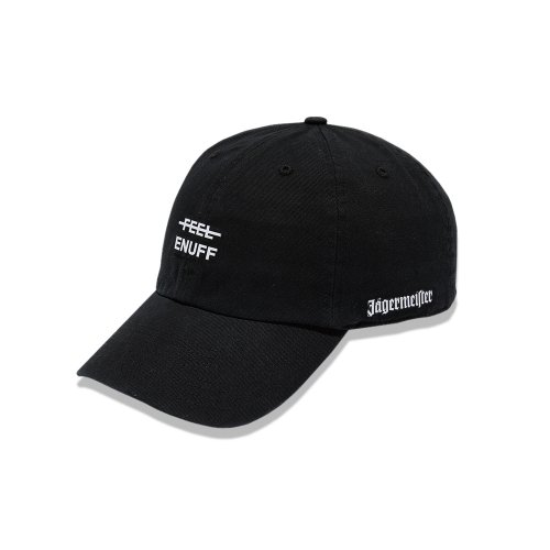 필이너프(FEELENUFF) [Jägermeister] LOGO BALL CAP (BLACK)