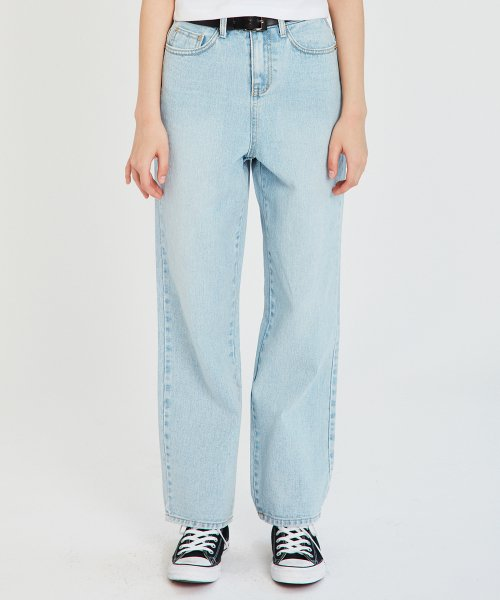 매치글로브(MATCHGLOBE) MG9S WASHING DENIM PANTS (LIGHT BLUE)