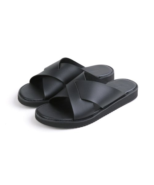 러기드하우스(RUGGED HOUSE) JASPER SUMMER SANDALS 블랙