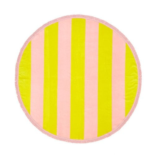 밴도(BAN.DO) all around giant towel beverly stripe (daffodil/cameo)
