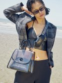 조셉앤스테이시() Joseph A Clear Bag Rich Black