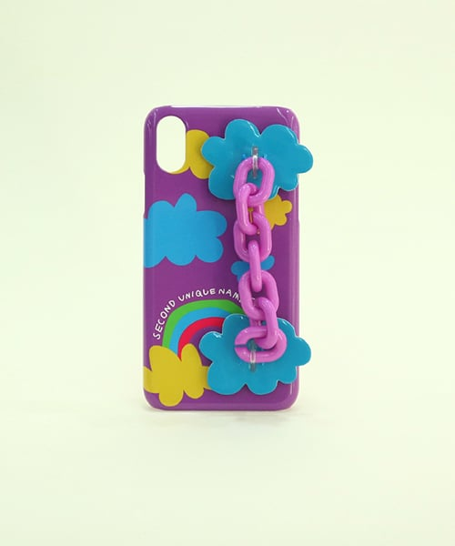 세컨드유니크네임(SECOND UNIQUE NAME) SUN CASE CANDY CHAIN PURPLE
