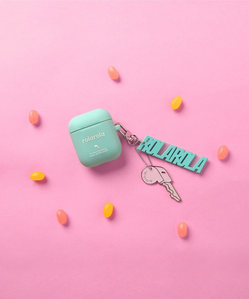 로라로라(ROLAROLA) (LV-19307) ROLAROLA KEY AIRPODS CASE MINT