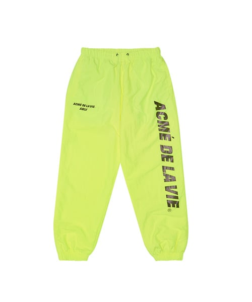 아크메드라비(ACME DE LA VIE) ADLV NYLON PANTS NEON YELLOW