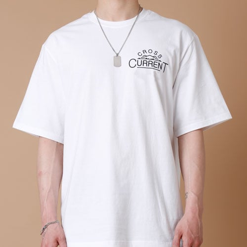크로스커렌트(CROSSCURRENT) CCT Mountain Short Sleeve - WHITE
