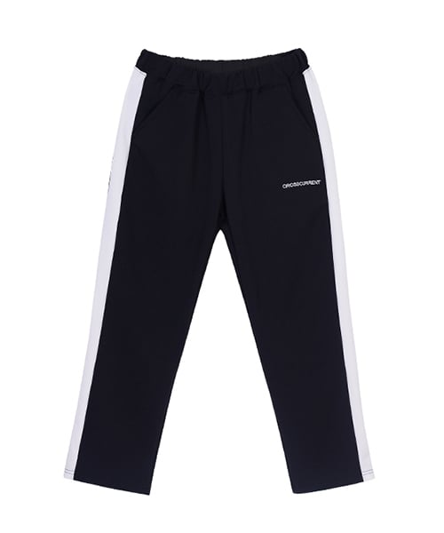 크로스커렌트(CROSSCURRENT) CCT Side Line Training Pants - BLACK