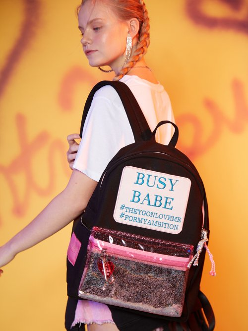 앙트레브(ENTRE REVES) BUSY BABE SUMMER BLACK