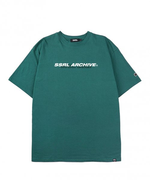 에스에스알엘(SSRL) archive tee / deep green