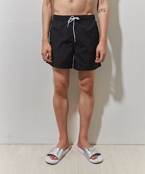 에이본(THE-ABON) ken swimming half pants (black)