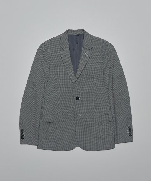 심플레인(SIMPLAIN) Hound tooth check suit