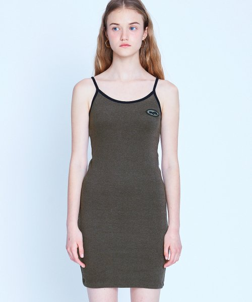 매치글로브(MATCHGLOBE) MG9S MGLB SLEEVELESS OPS (BROWN)