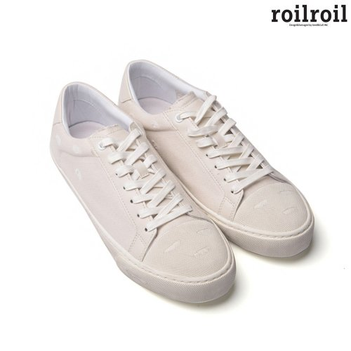 로일로일(ROILROIL) Destroyed Sneakers Toe cap - WHITE (UNISEX)