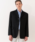 가먼트레이블(GARMENT LABLE) GL 3 Button Jacket - Black