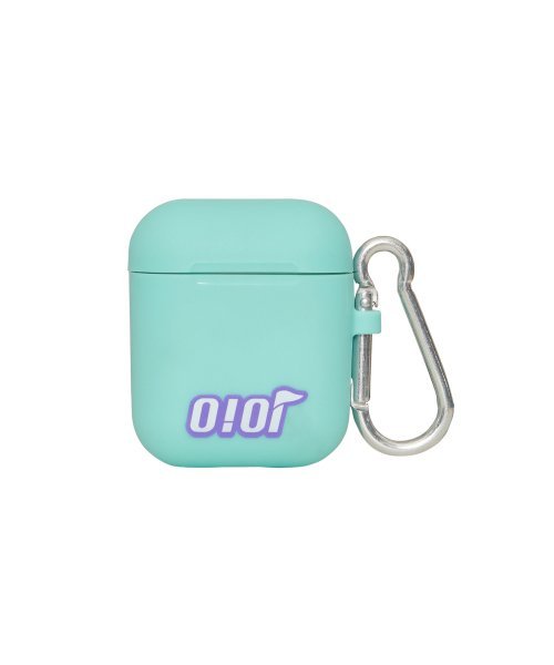 5252 바이 오아이오아이(5252BYOIOI) FLAG LOGO AIRPODS CASE_mint