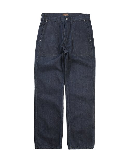 비슬로우 오리지널스(BESLOW ORIGINALS) 19FW COMFY FATIGUE DENIM PANTS INDIGO